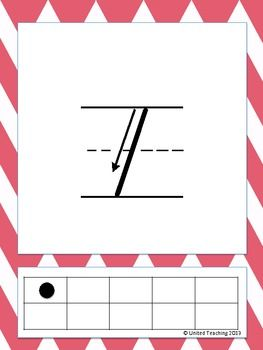 Free Number Writing Posters with Ten Frames