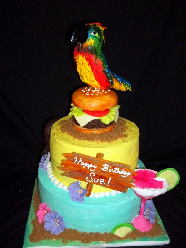 Jimmy Buffett Birthday Cake