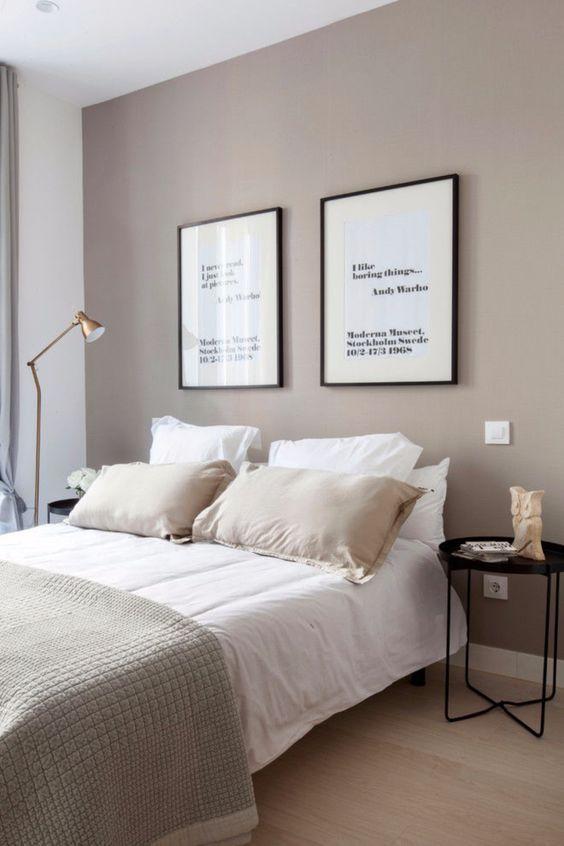 36 Minimalistische Dekoideen fürs Schlafzimmer. E…