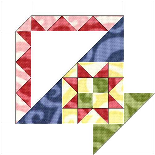Block 12 by Piecemeal Quilts, via Flickr