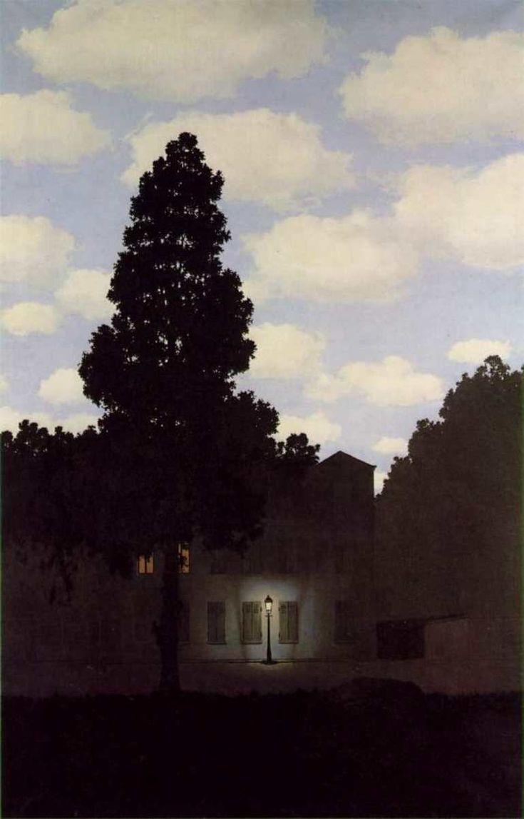 Rene Magritte - Empire Of Light .