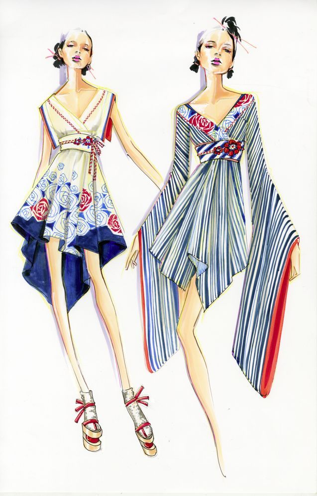 Paul Keng Fashion llustration