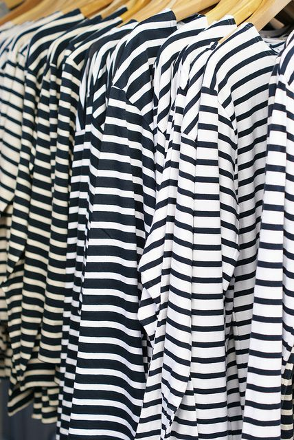 seriously...I have a significant problem...can you have too many stripped shirts? Just about like you can't have too many black shirts!