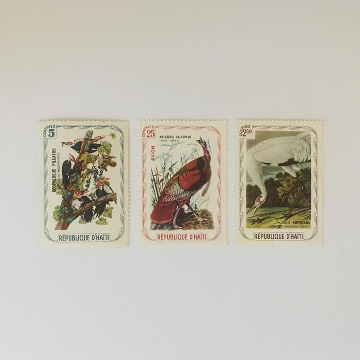 Vintage stamps~  Is there any chance to use them in Europe? ...Don't think so, but maybe... ~