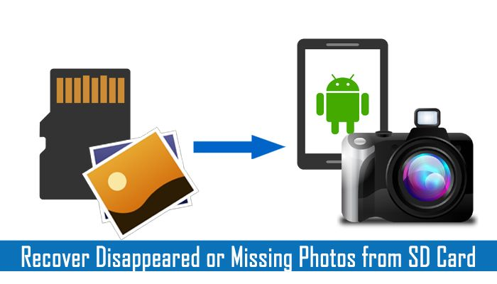 Solutions to recover #photos disappeared or missing from #SDCard. Try these solutions - Reboot your phone, Re-insert the SD card, #Delete Nomedia #File and more.