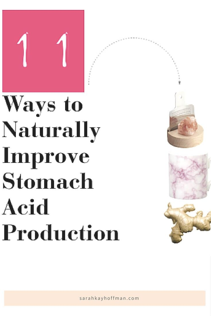 Natural Ways To Reduce Stomach Acid Production