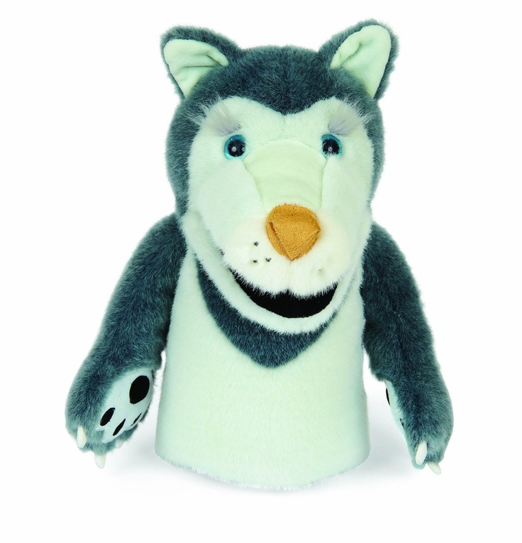 Dogzillies Hand Puppet Harvey Huskey