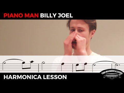 Piano Man by Billy Joel: How to play on C Harmonica (Beginner Harmonica ...