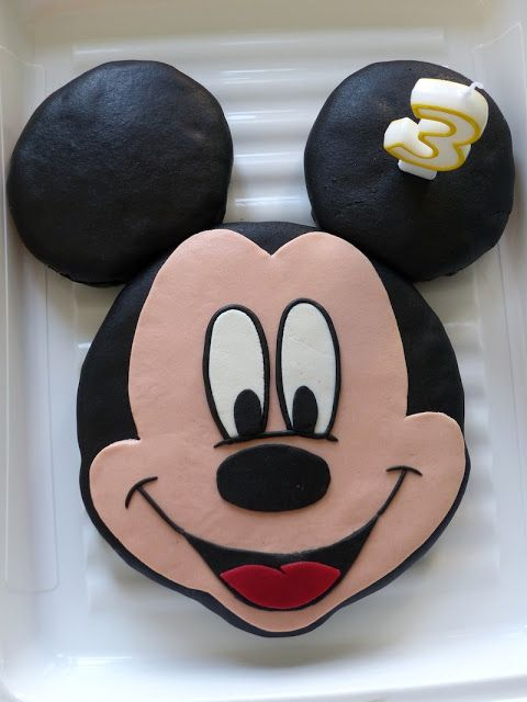 Gâteau Mickey au chocolat