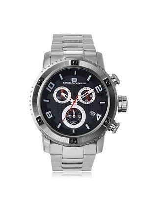 78% OFF Oceanaut Men's OC3120 Impulse Silver/Black Stainless Steel Watch