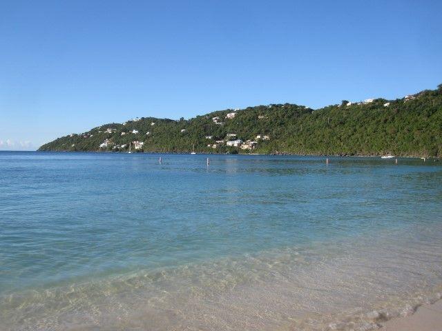 Magens Bay beach Charlotte Amalie St. Thomas Ilhas Virgens Americanas Na dúvida embarque