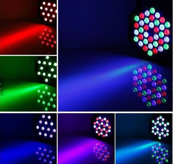 8pcs 36 RGB LED Par Can Stage Light Disco DJ Bar Effect UP Lighting Sh dmx led par Club Party light Strobe  Fast Shipping #Affiliate