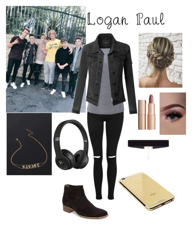 """""""~ makin a video with logan and the boys ~"""" by racheldolan99 ❤ liked on Polyvore featuring Topshop, Beats by Dr. Dre, Paul Green, Simplex Apparel, LE3NO, Goldgenie, 8 Other Reasons and Charlotte Tilbury"""