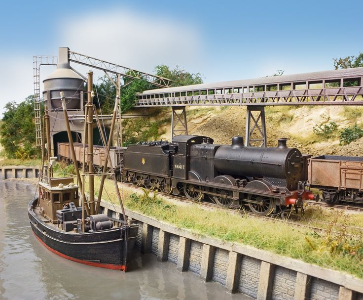 The Model Railways of Chris Nevard's Blog: Muddy Waters! aka PVA water, the Allan Downes' way....
