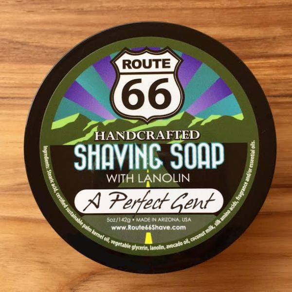 A Perfect Gent Shaving Soap | Retro Shave Shop | Route 66 Shaving Soap and Aftershave