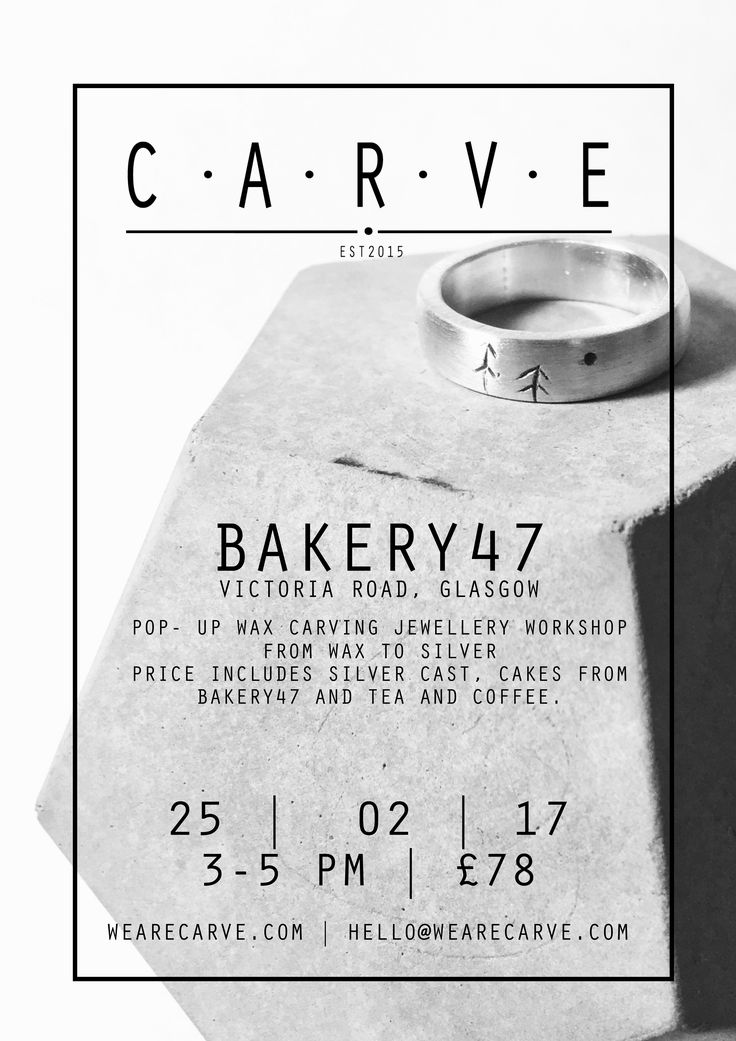 18 best c a r v e posters images on pinterest atelier bakery47 glasgow 250217 fandeluxe Choice Image