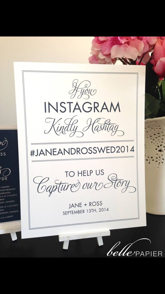 Best 25 Clever Wedding Hashtags Ideas On Pinterest