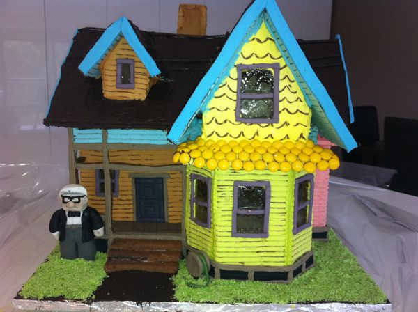 33 best Up Gingerbread House images on Pinterest