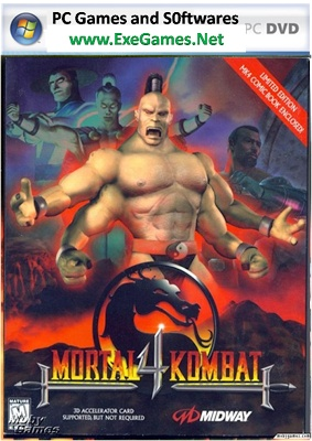Mortal Kombat 4 Free Download PC Game Full Version | Exe Games