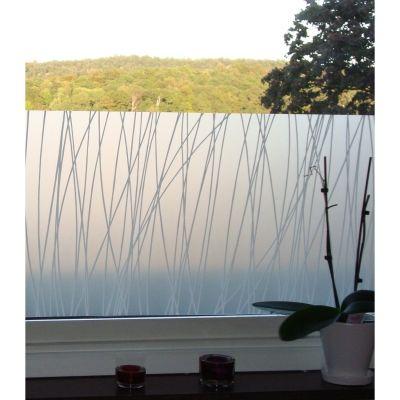 Linjer fönsterfilm 50x100 cm