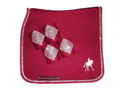 Dressage with Bling Polo Wraps – The Barn Closet