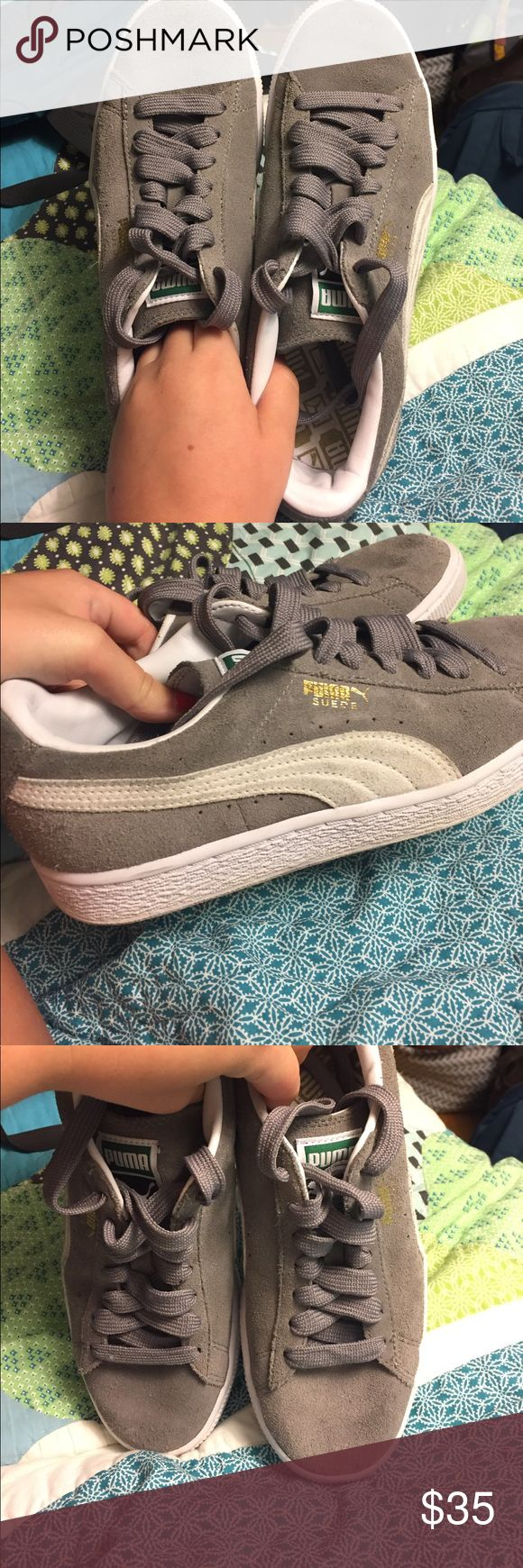 Puma Suede Casual Sneakers Size men's 5, women's 7 Puma Shoes Sneakers