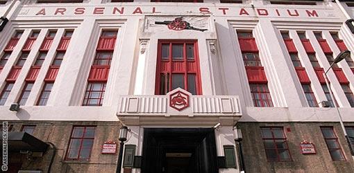 Highbury's Art Deco East Stand