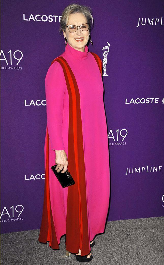 Мерил Стрип в Valentino на Costume Designers Guild Awards в Беверли-Хиллз