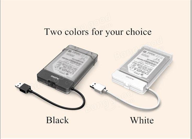 MAIWO K104 Tool-Free USB 3.0 SATA III Hard Disk Enclosures for 2.5inch HDD SSD