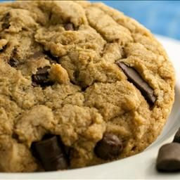 The Best Big & Chewy Chocolate Chip Cookies Ever! This recipe is by far the best cookie recipe out there. Make with chocolate chips and m & ms. The best!