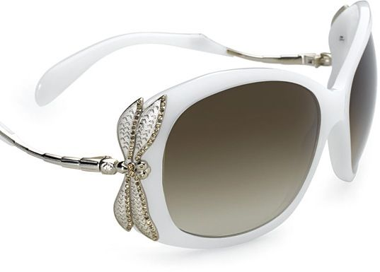 Want those!: Dragonfly White Giorgio Armani, Dragonflies Butterflies, Things Dragonflies, Sunglasses Ooohhhhhh, Style Pinboard, Libelula, Dragonflies Sunglasses, Garmaniart Nouveau, Dragonflies Dreams