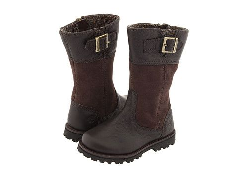 Timberland Kids Maplebrook Girls' Tall Boot (Infant/Toddler) Dark Brown - Zappos.com Free Shipping BOTH Ways