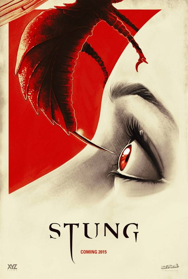New Movie Poster for Stung (2015) Released - Hell Horror