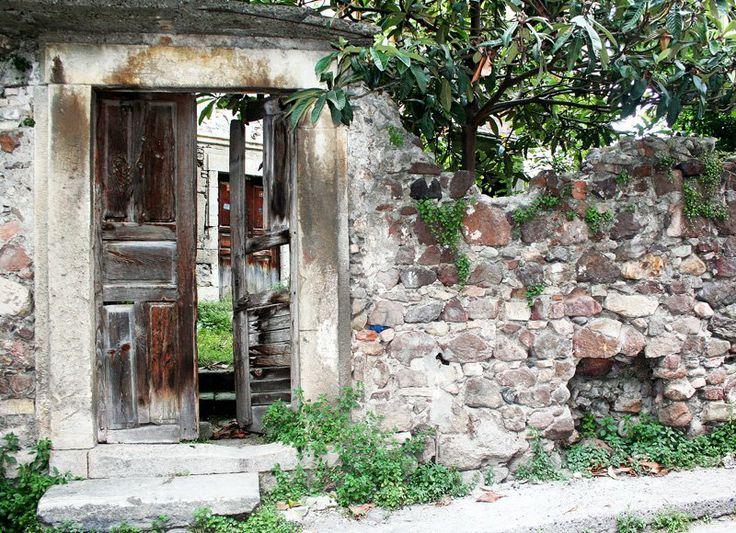 Old door, Ünye - Turkey.  _photo by Sibel Gögen.