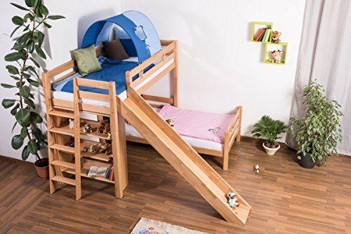 lit superposés avec toboggan