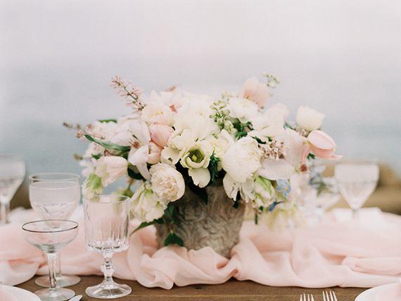 Blush coastal wedding inspiration | Photo by Carmen Santorelli