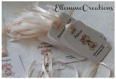 Ellemme Creations: Dolci tag in rosa