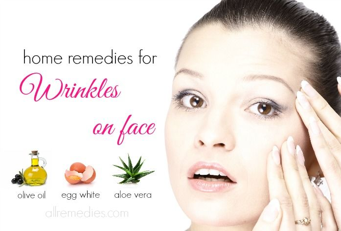 Top 20 natural home remedies for wrinkles on face