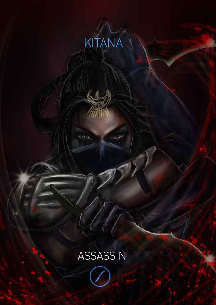 Mortal Kombat Kitana Variation: Assassin by Grapiqkad on DeviantArt