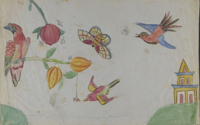 "Darwin's children used the first manuscript of ""On the Origin of Species"" for scratch paper."