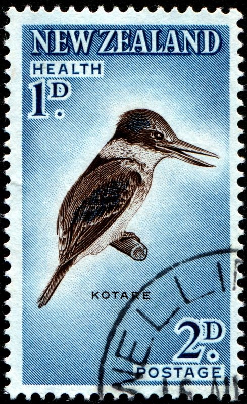 New Zealand old stamp ...