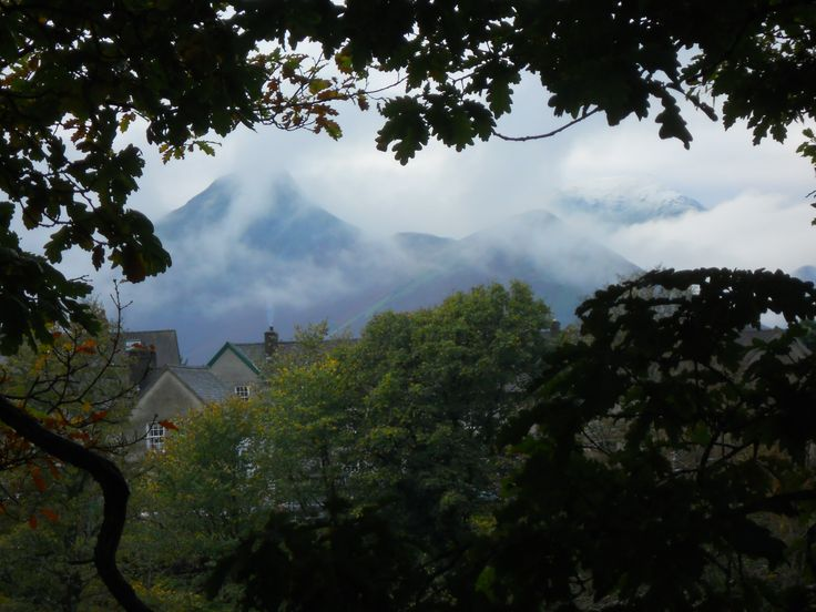 Cloud swirling round Cat Bells