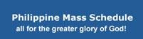 Catholic Mass Schedule at Christ The King Parish, Quezon City, Metro Manila
