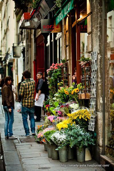 #flowers in paris...