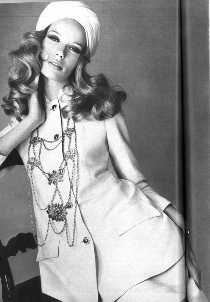 Veruschka 60's super model