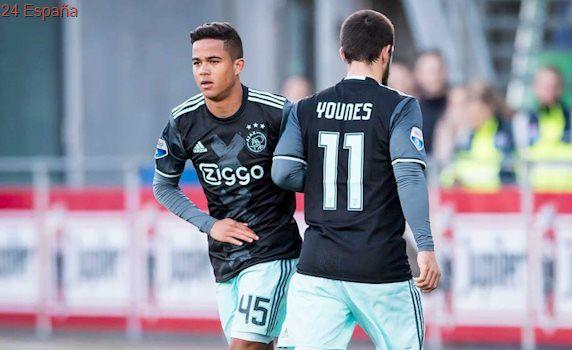 Debuta con el Ajax a los 17 años Justin, el hijo de Patrick Kluivert