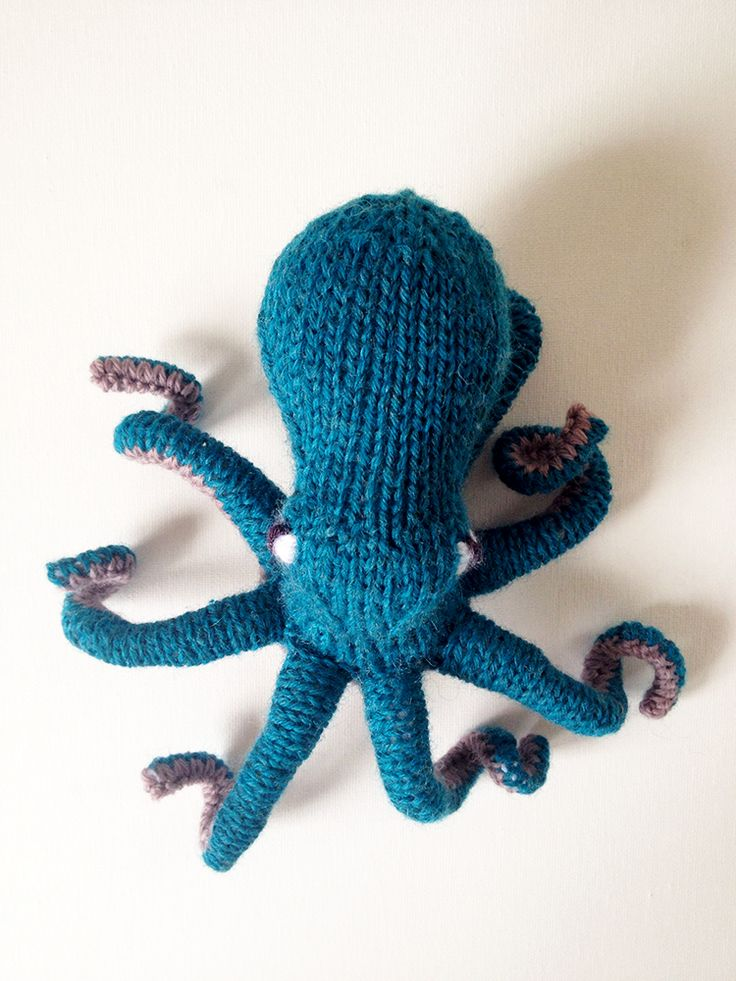 Knitting Pattern Octopus Toy : 17 Best images about Knitting: Toys & Hobbies on Pinterest ...