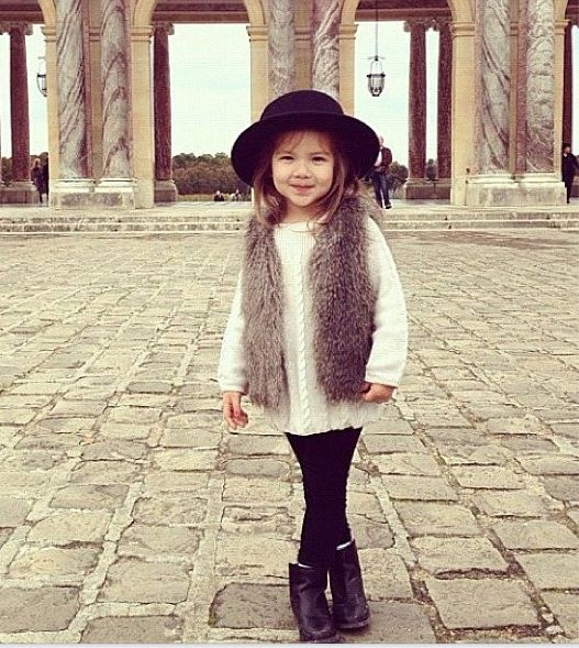 Little Fashionista Street Style Girls Fashion Baby Girl