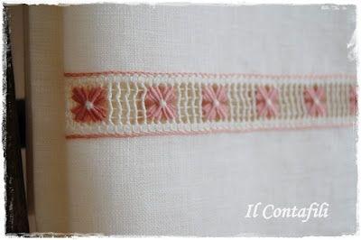 Beautiful drawn thread work