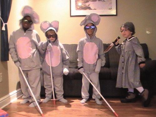3 Blind Mice Halloween Costume